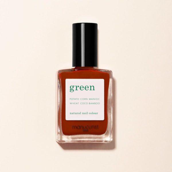manucurist vernis ongle rouge indian summer BREST - Indian summer - Manucurist Green